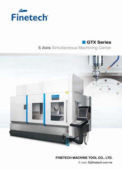 5 Axis Simultaneous Machining Center